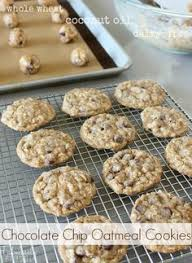 soft and chewy cranberry chocolate chip oatmeal cookies oatmeal
