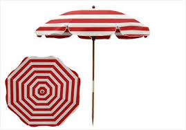 Patio Umbrella Pole Replacement Replacement Patio Umbrella Pole 7 5 Ft And White Stripe Wood