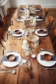 Servietten Falten Tischdeko Esszimmer Table Setting I Schlicht Schön I Weiß Grau Holz I Tischdeko I