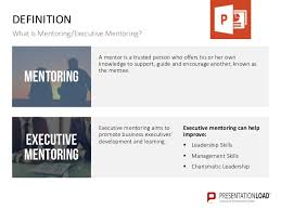 mentoring template executive mentoring ppt slide template