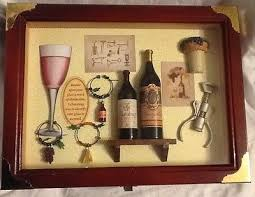 wine themed gifts arister gifts keepsake shadow box wine theme what s it worth