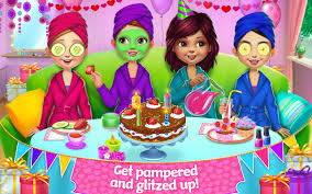 birthday party spa birthday party android apps on play