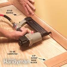 trim baseboard how to install baseboard trim even on crooked walls family handyman