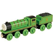 amazon com thomas and friends wooden railway henry the green