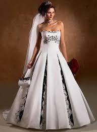 brautkleid schwarz weiss lovely brautkleid schwarz weiß inspiration hochzeitskleid