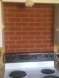 Kitchen Backsplash Brick by Cook Kitchen Backsplash Creative Faux Panels