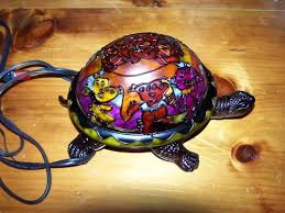 hsn tiffany style lighting new hsn grateful dead dancing bears turtle desk l tiffany style