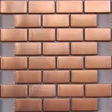 copper kitchen backsplash tiles copper kitchen backsplash set of 4 tiles copper decor rustic