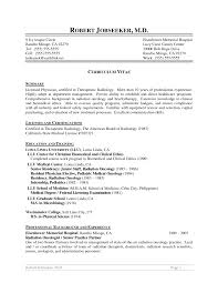 It Manager Resume Examples Business Resume Radiologist Resume Business Plan Templates Sample