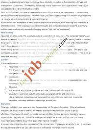 Resume Sample Electronics Technician by Electronic Resume Eresume
