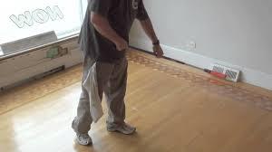 Hardwood Floor Coating Basic Coatings Streetshoe Wood Floor Finish Application Youtube
