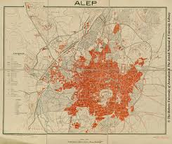 Aleppo Syria Map by Afternoon Map 14 Maps Of Syria U0027s History
