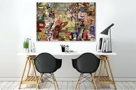 tableau de cuisine moderne deco murale contemporaine tableau contemporain affiches par vain
