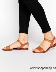 2016 sandals women windsor smith bondi tan leather flat