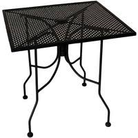 Patio Table With Umbrella Hole Metal Mesh Patio Tables Metal Mesh Outdoor Furniture