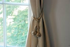 Where To Buy Curtain Tie Backs Monkey Fist Knot Tassel Hemp Curtain Tie Backs Nautical