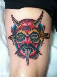 traditional devil tattoo designs pictures to pin on pinterest