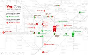 London Canada Map by London U0027s Favourite And Most Hated Tube Stations U2013 Now Here This