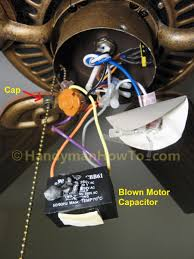 hunter 4 wire ceiling fan switch ceiling fan ideas surprising 4 wire switch design motor capacitor