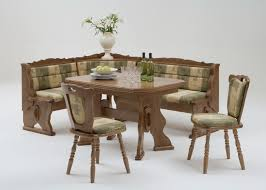Oak Dining Room Table Sets Diy Corner Bench Mara Oak Dining Set Corner Bench Breakfast