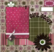 premade scrapbooks 69 best girl scout brownie images on scrapbooking