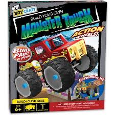 Boy Craft Build Monster Truck Kit Walmart