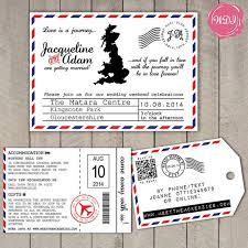 themed luggage tags 30 best wedding stationery images on wedding