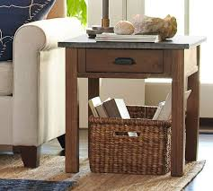 Wood Side Table Channing Side Table Pottery Barn