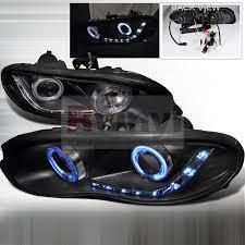 02 camaro headlights spec d tuning chevrolet camaro 1998 2002 dual ccfl led halo black