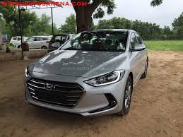 new elantra spotted at dealer yard looks stunning