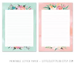paper for writing printable letter paper floral stationery writing letter zoom