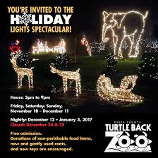 turtle back zoo lights turtle back zoo our free holiday lights spectacular facebook