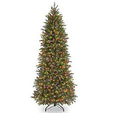 7 5 ft dunhill fir tree with dual color led lights