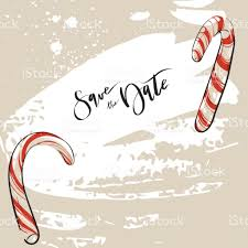hand drawn vector abstract christmas decoration save the date
