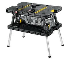 stanley folding work table top 10 best portable folding workbenches in 2018 reviews