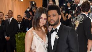 selena gomez the weeknd kiss on 2017 met gala red carpet time com
