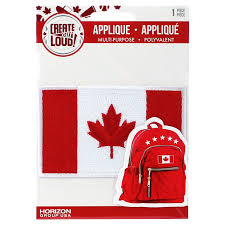 Canadian Flag Patch Create Out Loud Iron On Large Canada Flag Applique Walmart Canada