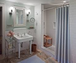 Pictures Of Shower Curtains In Bathrooms Country Shower Curtains Bathroom Traditional With Wall Sconce