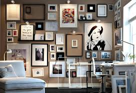 Picture Wall Collage by Picture Frame Arrangements Wall Ideas Shenra Com