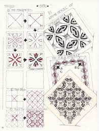 zentangle pattern trio siri tangle dresden zentagle muster pinterest siri dresden