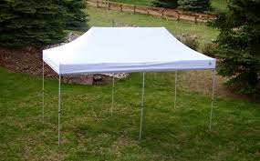 how many tables fit under a 10x20 tent 10 x 20 hybrid popup shade canopy package with white top