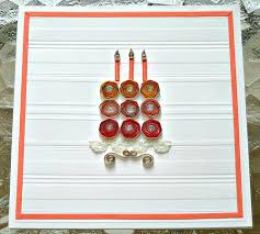 all things paper quilled birthday cake card diy