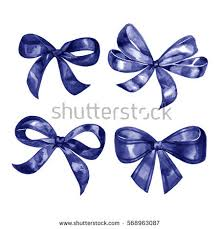 blue bows blue bow stock images royalty free images vectors