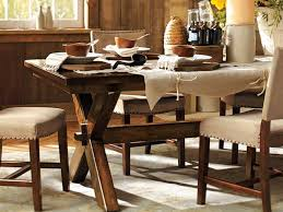 pottery barn dining room tables home design ideas and pictures