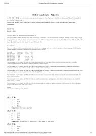 Qa Qc Engineer Resume Sample by Printable Quiz Hsk 3 Vocabulary Adjective With Answers