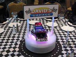 Led Light Base For Centerpieces by Custom Centerpieces With Personalized Logo And Rotating Led Light