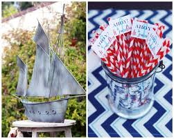 Nautical Themed Baby Shower Banner - baby shower nautical decorations baby shower diy
