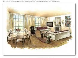 Interior Design Sketches Housing And Interior Design Home Design Ideas