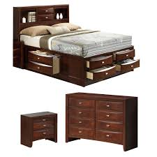 global furniture usa platform configurable bedroom set