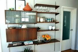 kitchen bookshelf ideas hanging kitchen shelves ojwouldissueror info